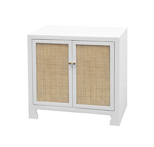 Ava Two Door Cane Cabinet