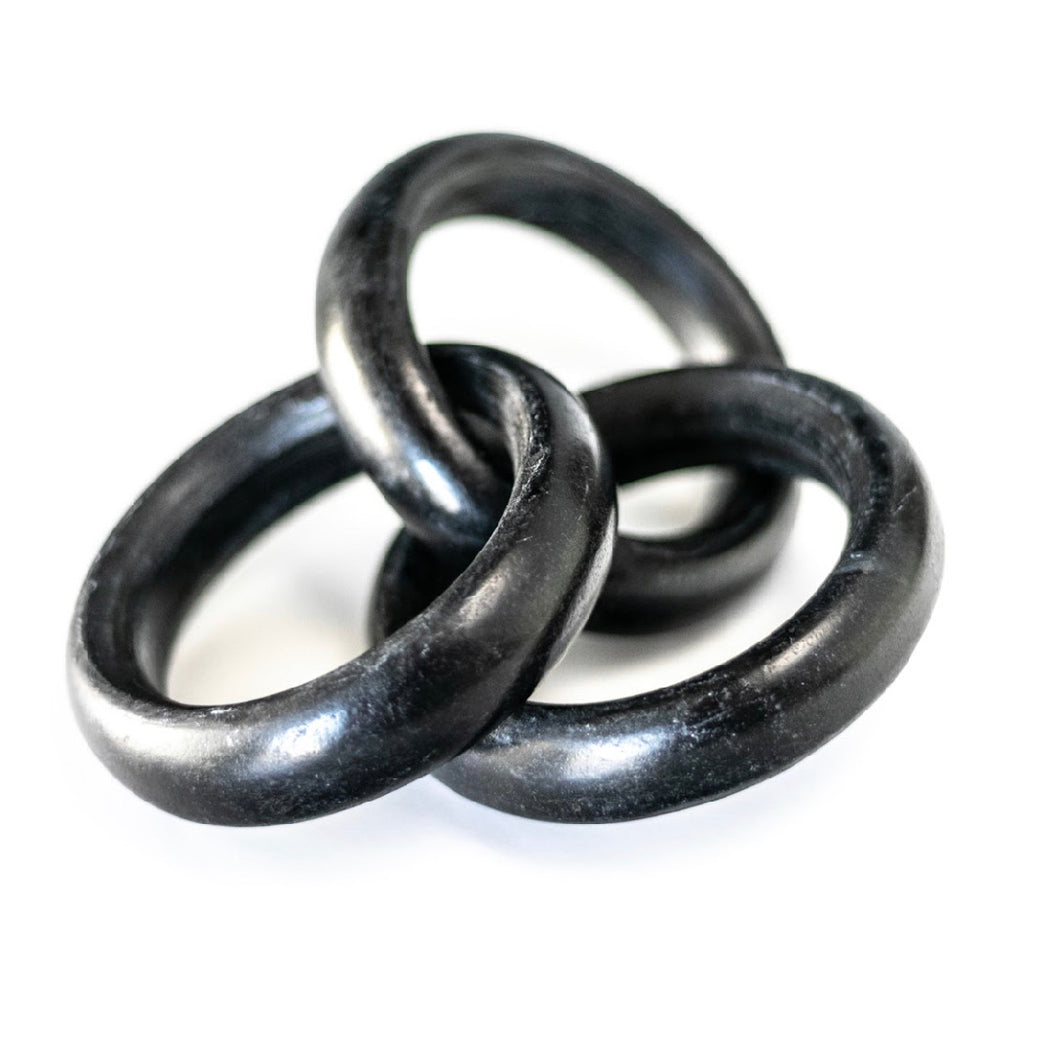 Black Marble Chain Link