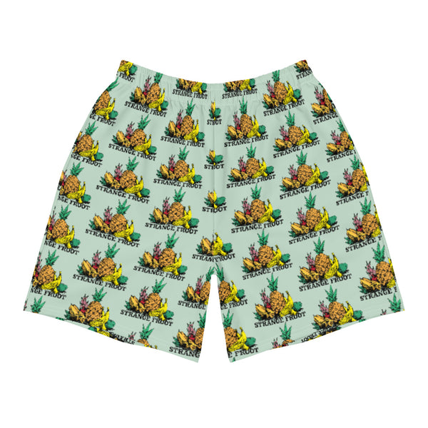 Strange Froot Logo Shorts - Green Ash