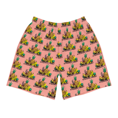 Strange Froot Logo Shorts - Burnt Coral
