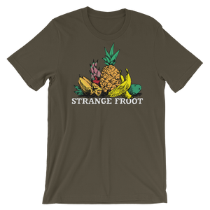 "Strange Froot ""LOGO Series"" dark tee"