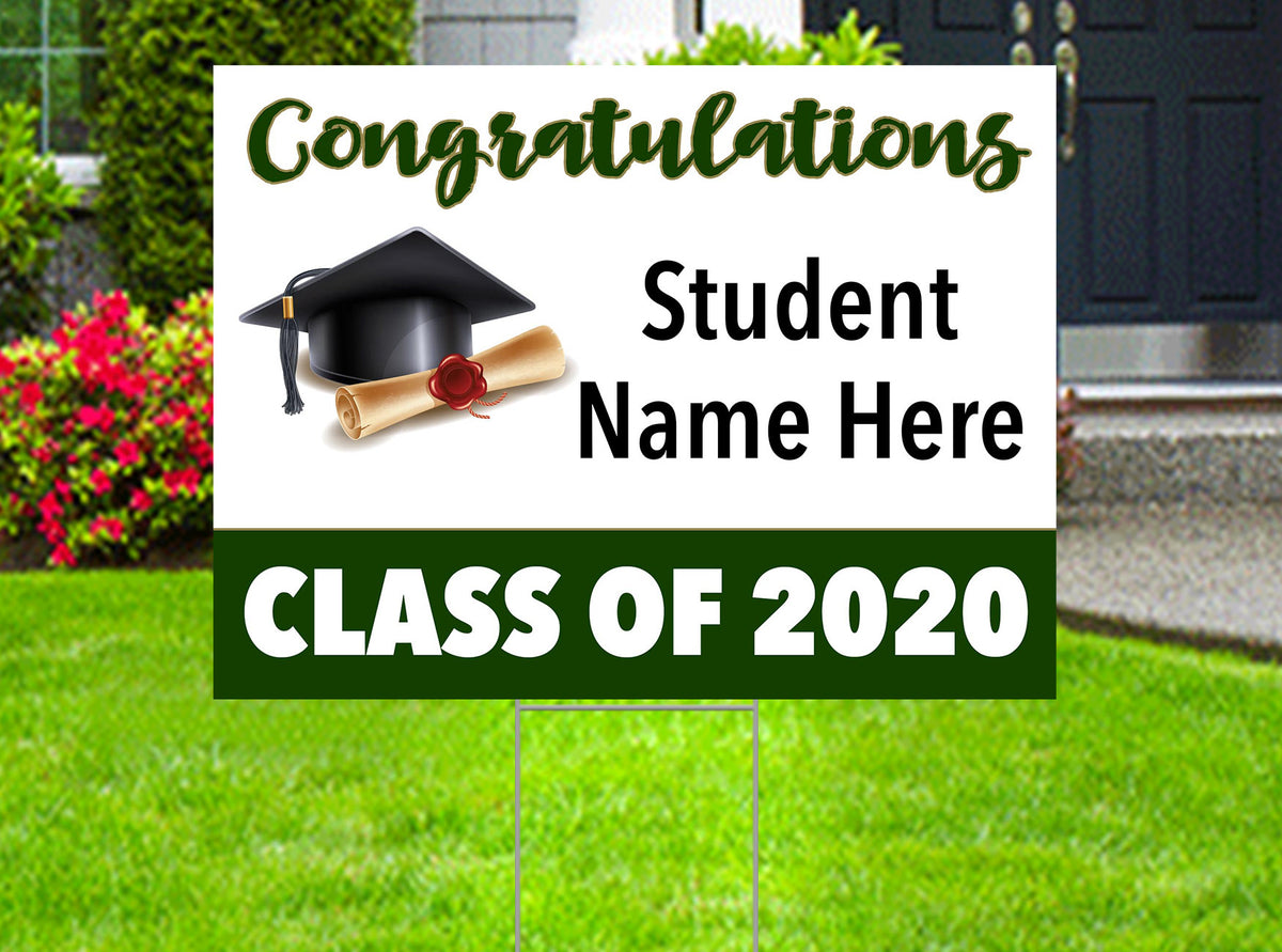 Congratulations Class of 2020 - Yard Sign