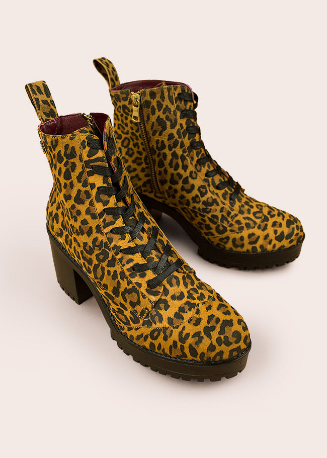 Bota Polanco Leopardo