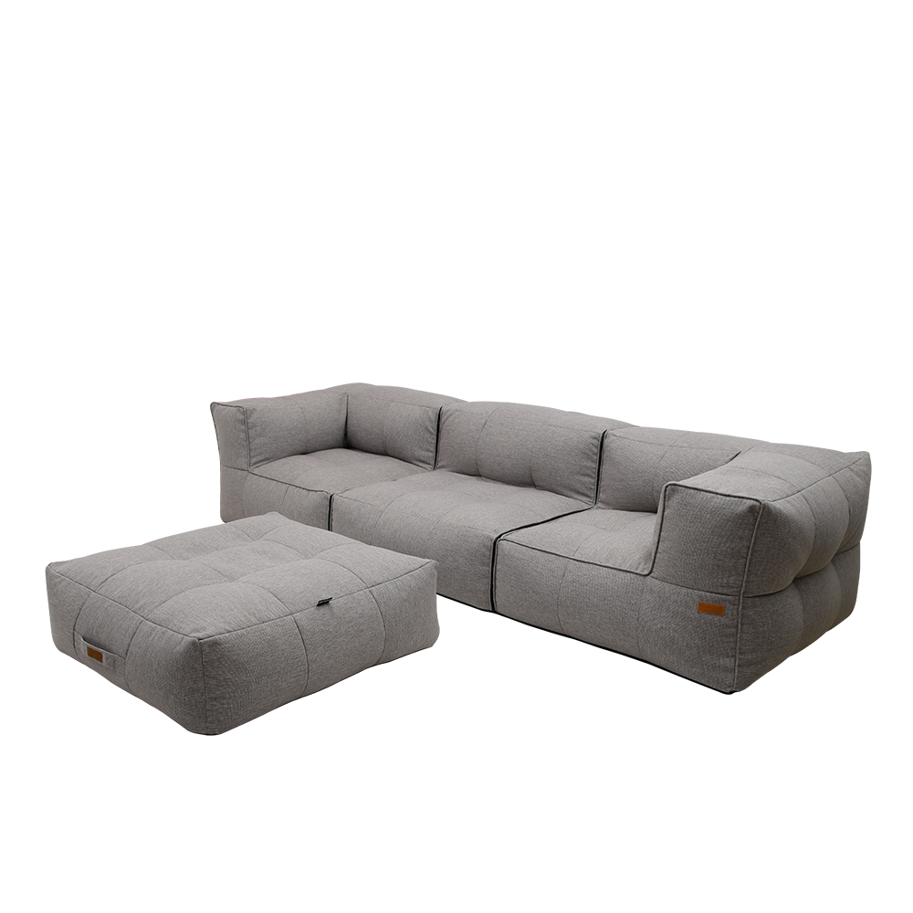 Casila Sofa with Ottoman