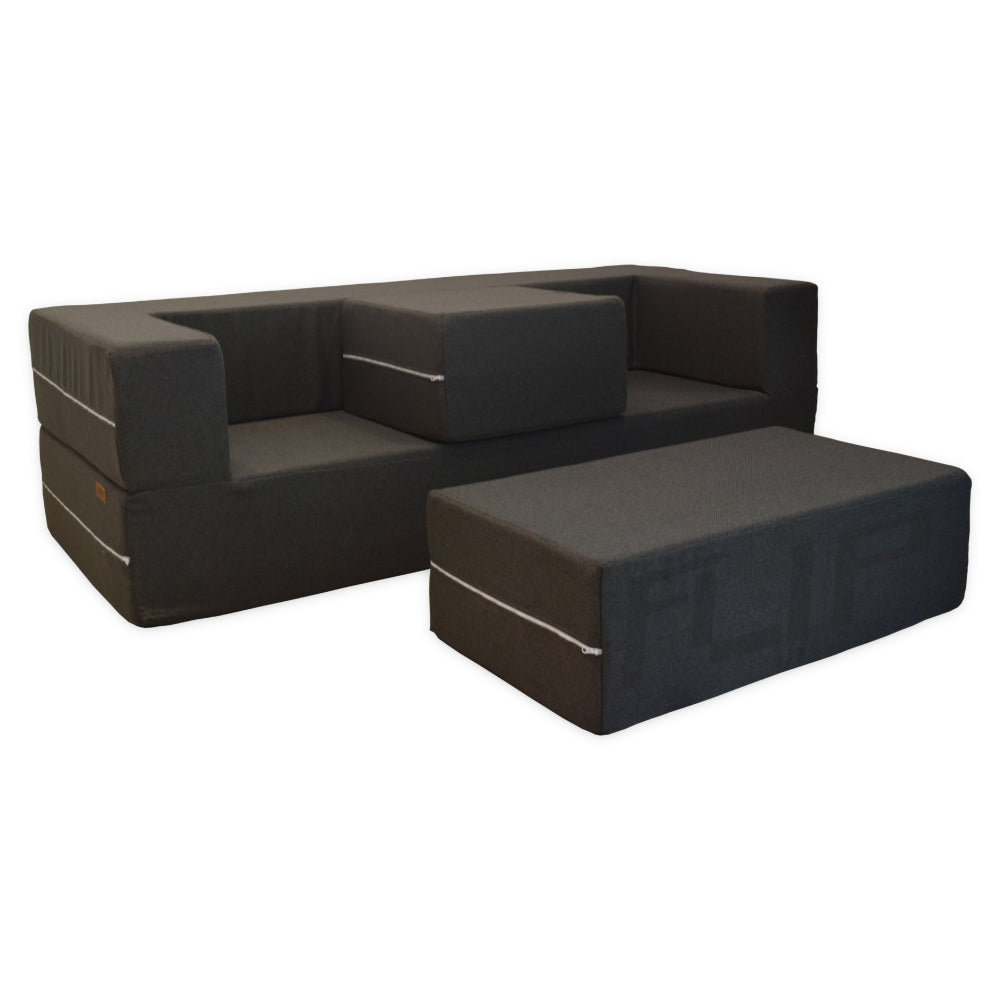 Flip 3-Seat Sofa King-size Bed Conversion