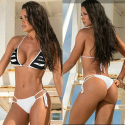 THE LIGHTHOUSE TWO PIECE SCRUNCH BIKINI