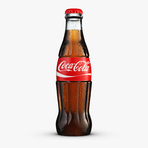 Coke 330ml Glass Bottle