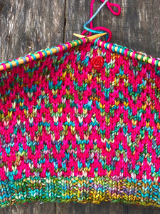 Find Your Way Cowl Knitting PATTERN