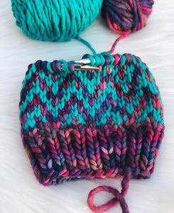 Find Your Way Beanie Super knitting PATTERN