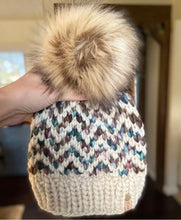 Load image into Gallery viewer, Find Your Way Beanie Super knitting PATTERN