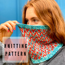 Load image into Gallery viewer, Find Your Way Cowl Knitting PATTERN