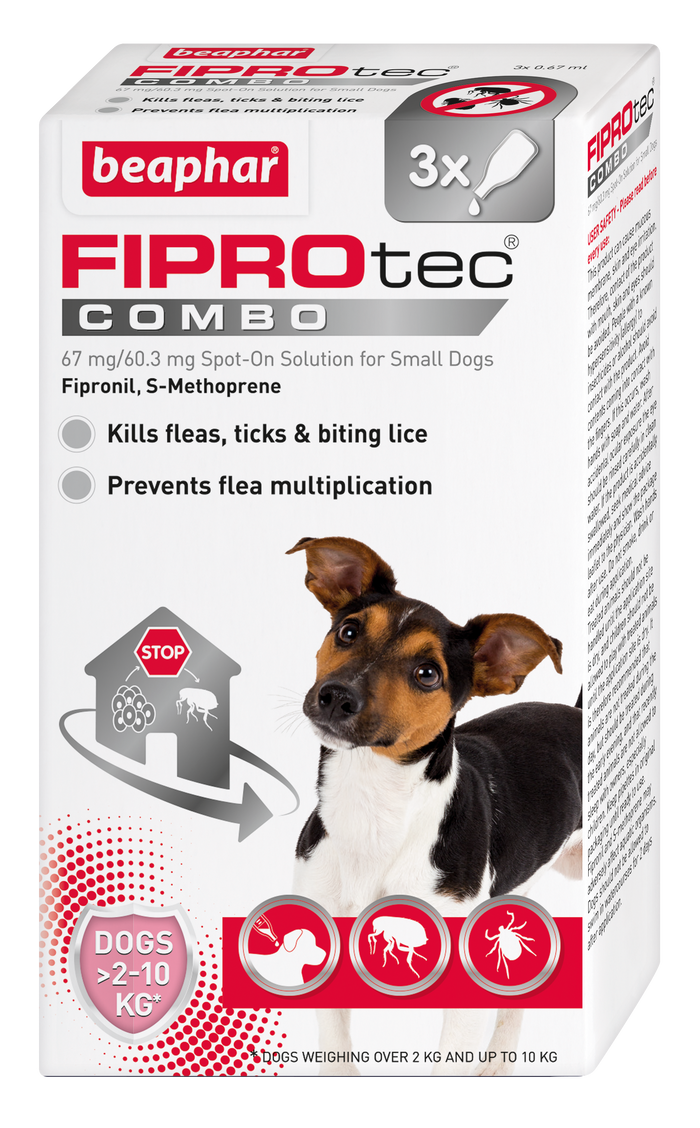 Beaphar FIPROtec Combo Small Dog 3 pipette