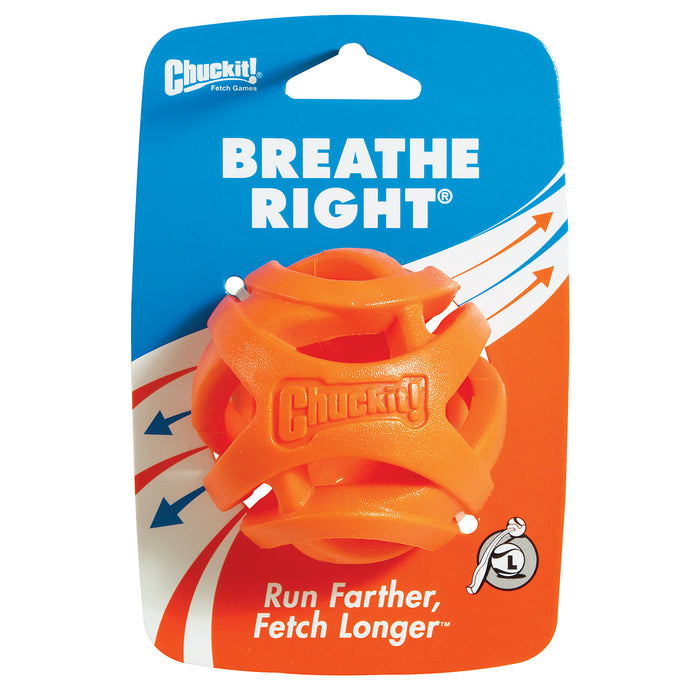 Chuckit Breathe Right Fetch Ball Large 7.3cm