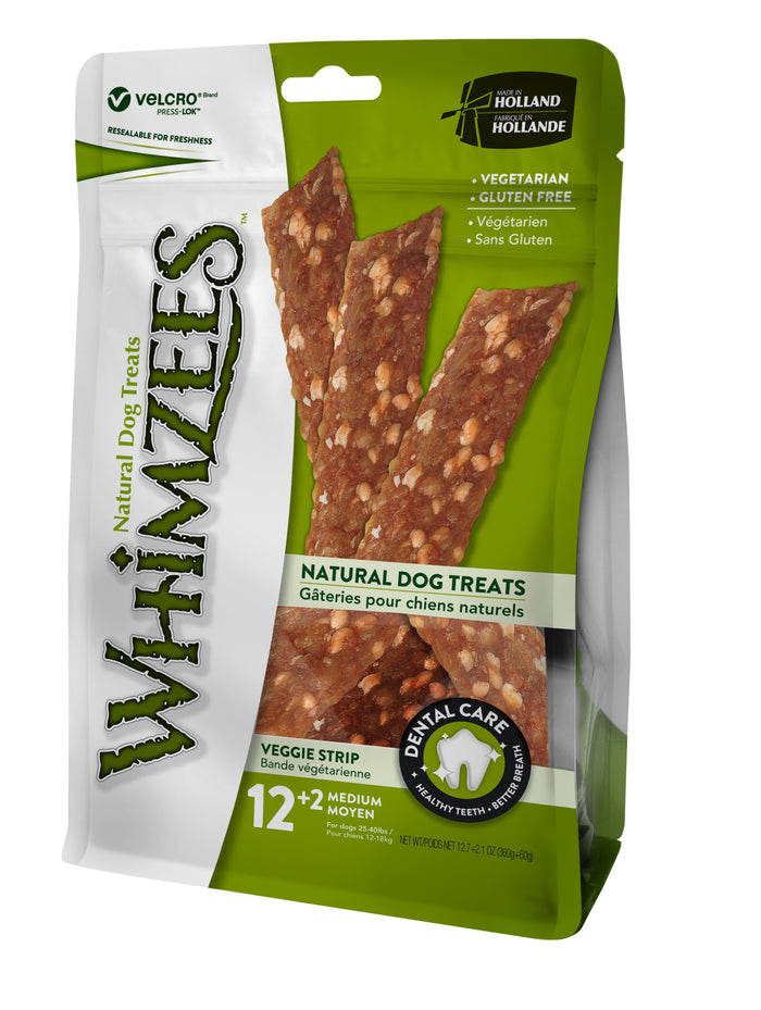Whimzees Veggie Strip M 14pcs