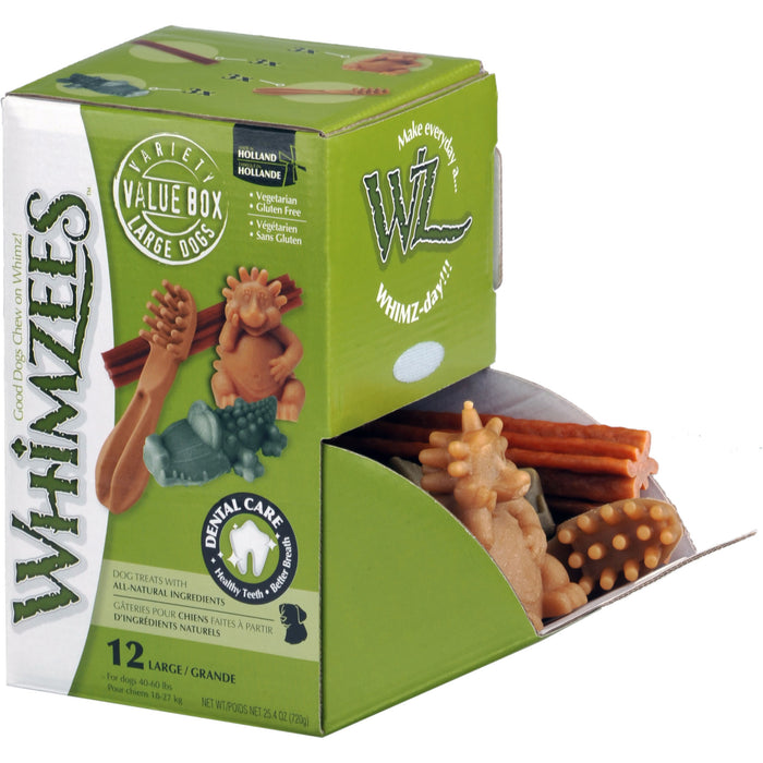 Whimzees Variety Box L 12pcs