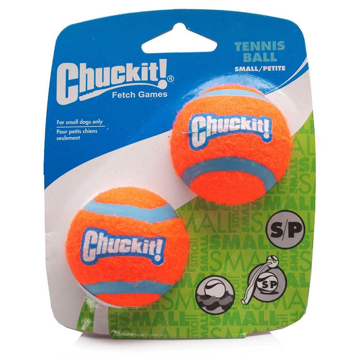 Chuckit Tennis Ball 2 Pack Small 4.8cm