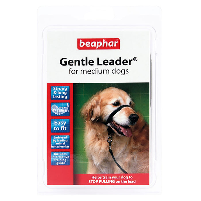 Beaphar Gentle Leader   Medium Black Medium