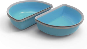 SureFeed Half Bowl Pack of Two Blue