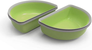SureFeed Half Bowl Pack of Two Green