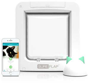 SureFlap Microchip Pet Door Connect With Hub White