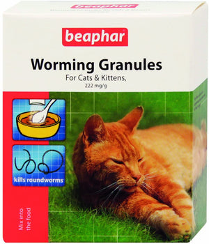 Beaphar Worming Granules for Cats 4 x 1g
