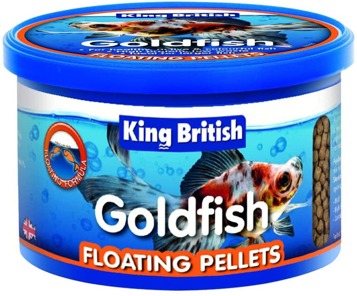 King British Goldfish Floating Food Pellets 75g