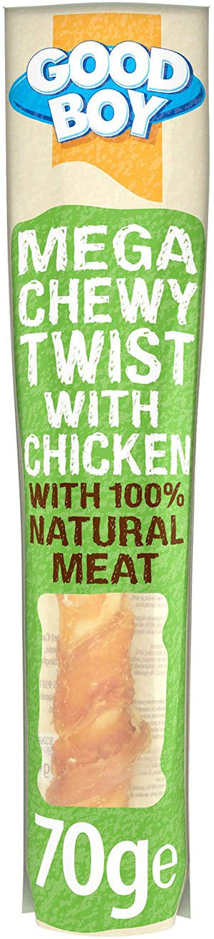 Good Boy Mega Chewy Twist with Chicken, 70g