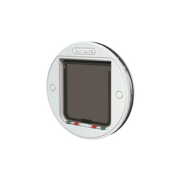 Cat Mate Large Glass Fitting Cat Flap 357W White