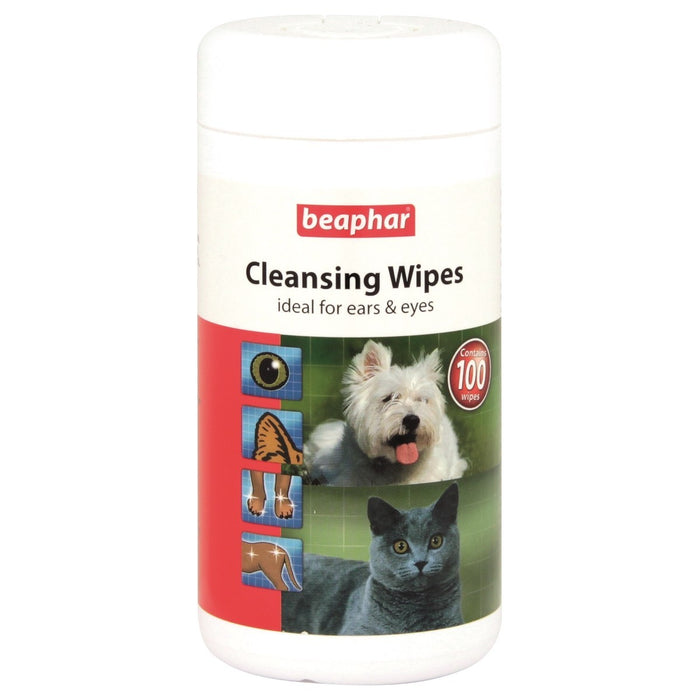 Beaphar Cleansing Wipes 100