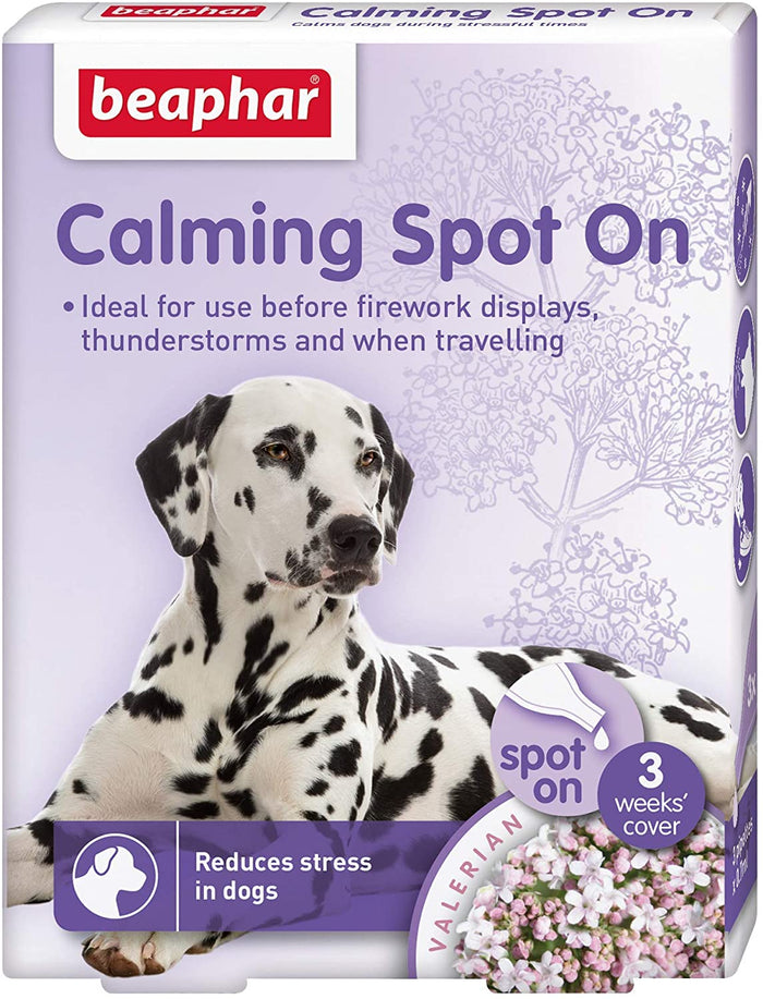 Beaphar Calming Spot On Dog 3 x 0.7ml