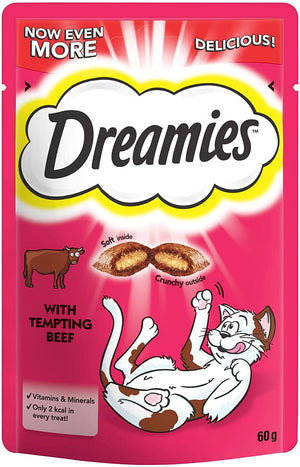 Dreamies Beef - 8 x 60g