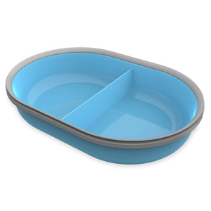 SureFeed Split Bowl Blue