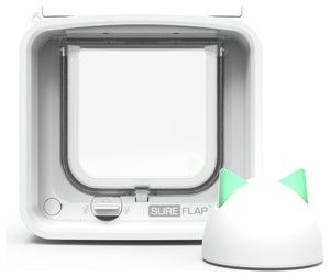 SureFlap Microchip Cat Flap Connect With Hub White
