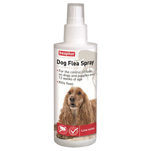 Beaphar Dog Flea Spray   Pump Action 150ml