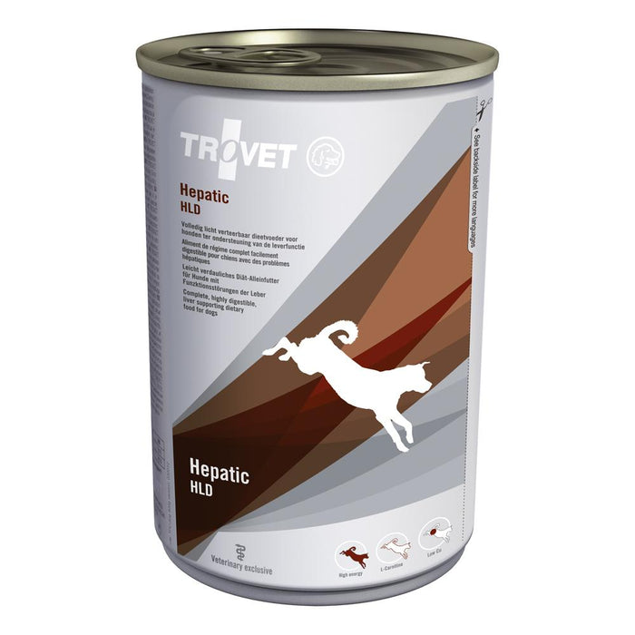 Trovet Hepatic Diet (HLD) Canine - 6 x 400g Cans