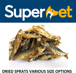 Superpet Dried Sprats For Dogs And Cats