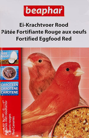 Beaphar Fortified Eggfood Red (150g)