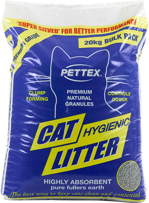 Pettex Premium Grey Cat Litter 20kg