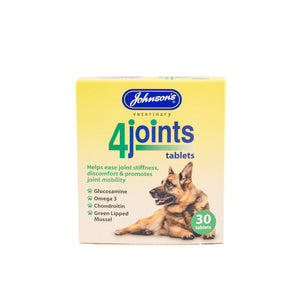 Johnsons 4Joints Tablets (for joint mobility) - Standard Strength 30 tablets