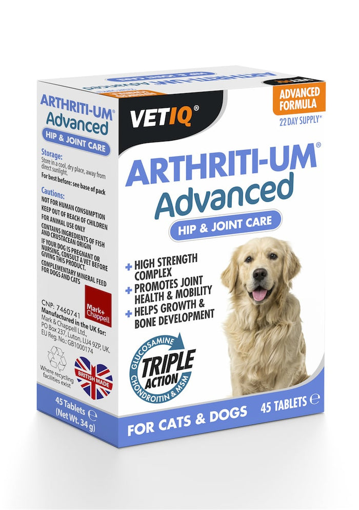 VetIQ Arthriti-UM Advanced 45 tabs