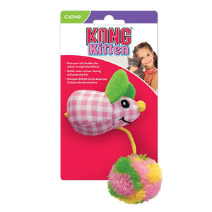 KONG Kitten Pom Tail Mouse