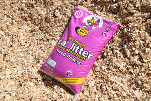 CJ's Premium Wood Pellet Cat Litter Wood Pellet
