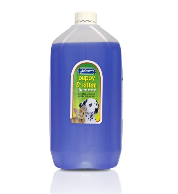 Johnsons Puppy & Kitten Shampoo 5 ltr