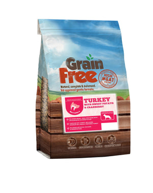 Barnaby's Large Breed Grain Free Turkey with Sweet Potato & Cranberry 12kg