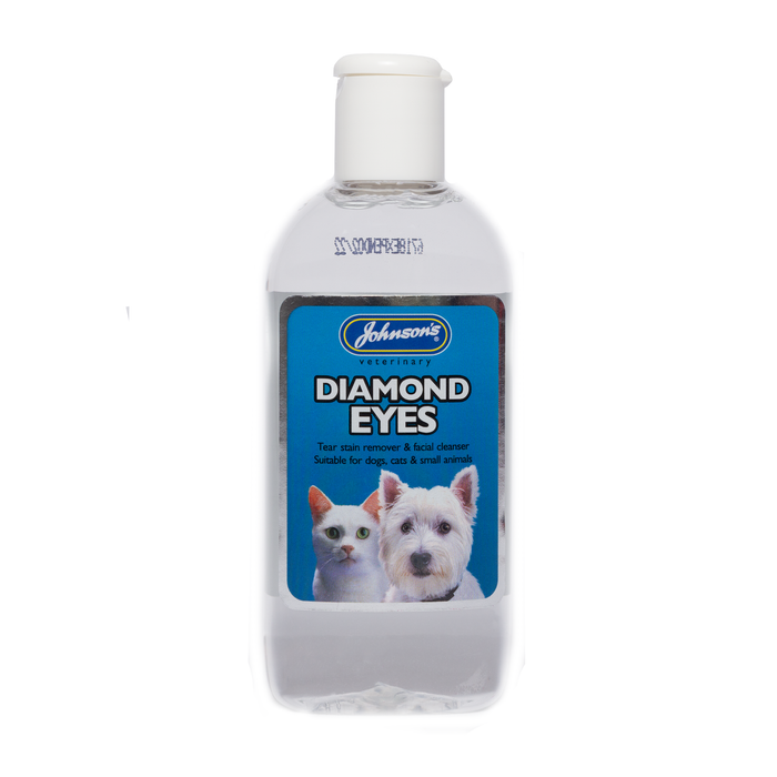 Johnsons Diamond Eyes (Tearstain Remover & Cleanser) 125 ml