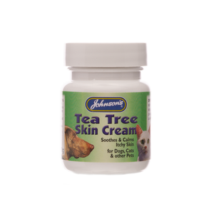 Johnsons Tea Tree Skin Cream (for skin irritations) 50 g jar