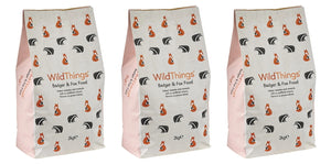 Wild Things Badger and Fox Food - 6kg ( 3 x 2kg)