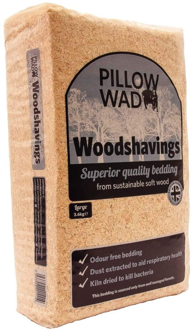 Pillow Wad Wood Shavings 3.6kg