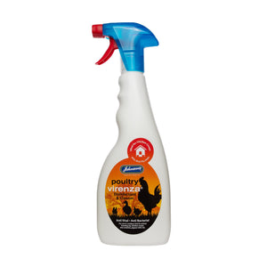 Johnsons Virenza Poultry Disinfectant 500 ml Trigger Spray