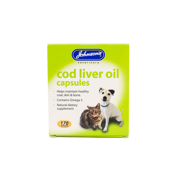 Johnsons Cod Liver Oil Capsules 170 capsules